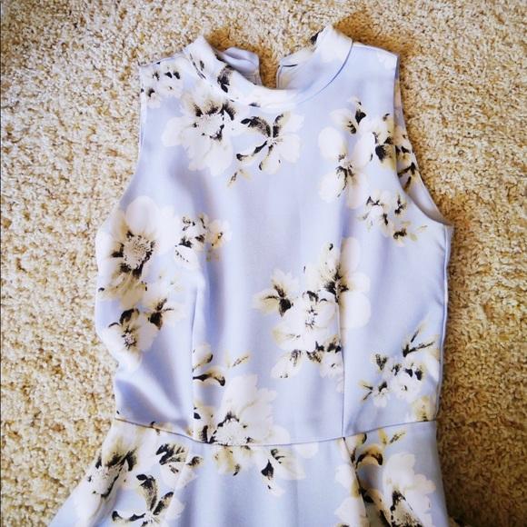 Snidel Dresses & Skirts - Sindel Japanese brand Floral sleeves-less dress